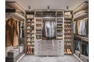 Как распределить свободное пространство в гардеробе