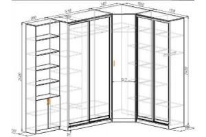 Максимальные и минимальные размеры шкафов-купе