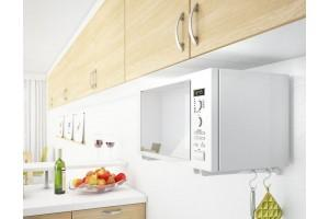 5 способов спрятать микроволновку на кухне