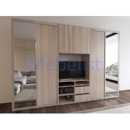 Шкаф-купе под телевизор ШКTv3 (345x60x240 см.)