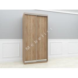 Двухдверный шкаф купе ПШК-03/22 120*58*222 см