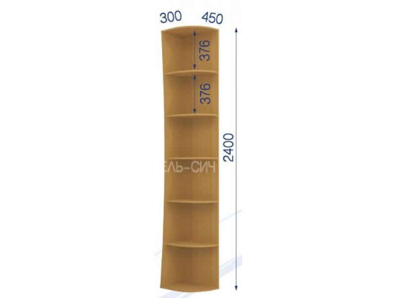 Консоль радиусная KR45