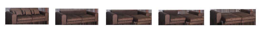 """Прямой диван-кровать """"Дориан"""""""
