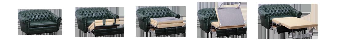 """Прямой диван-кровать """"Флоренс"""""""
